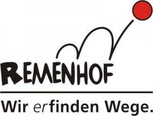 Logo Remenhof mit Wir erfinden Wege